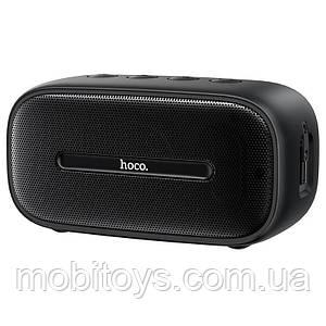 Портативна Bluetooth колонка Hoco BS43 Cool sound водонепроникна IPX7 (BT 5.0, AUX, MicroSD) Black