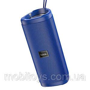 Портативная Bluetooth колонка Hoco HC4 Bella sports с влагозащитой IPX5 (BT 5.0, AUX, USB, MicroSD) Blue
