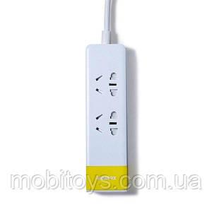 Сетевой удлинитель Remax Youth Version RU-S3 EU Yellow