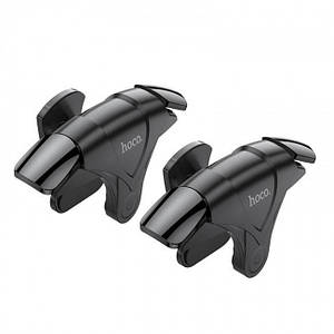 Игровые триггеры контроллер для телефона Hoco GM5 Wolf mobile game buttons Black
