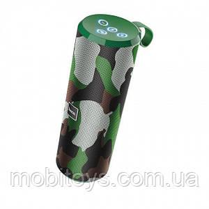Портативна колонка Hoco BS33 Voice sports Camouflage Green