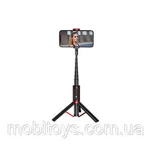 Трипод-монопод для селфи Joyroom JR - Oth-AB202 Phantom Series BT Wireless Black