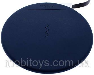 Беспроводное зарядное устройство JOYROOM JR-W100 wireless charger (1A) Blue