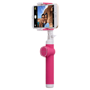 Селфи-монопод Momax Selfie Hero Bluetooth Selfie Pod 100cm Pink (KMS7D)