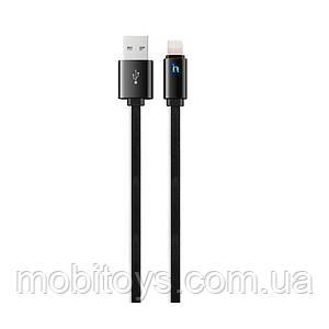 Кабель Hoco UPL12 Plus Jelly Lightning 1.2 m Black