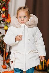 Детские куртки и пуховики для девочек зима размеры 86-110