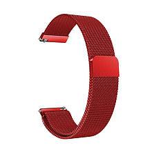 Ремінець для годинника Melanese design bracelet Універсальний, 22 мм Red