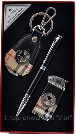 """Деловой Набор 3в1 """"Moongrass"""" ручка + брелок + зажигалка, фото 2"""