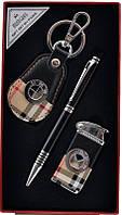 """Деловой Набор 3в1 """"Moongrass"""" ручка + брелок + зажигалка"""