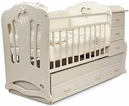 """Детская кроватка-трансформер """"Вивальди"""" 3 в 1 Трия"""