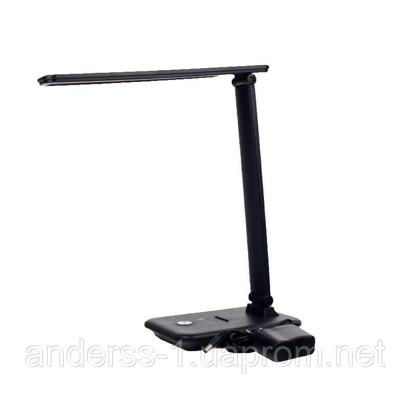 LED світильник настільний 10 Вт (2700/4100К/6500К) 700 Лм Чорний