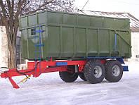 Тракторный самосвальный прицеп односторонний ТСП -20, фото 1