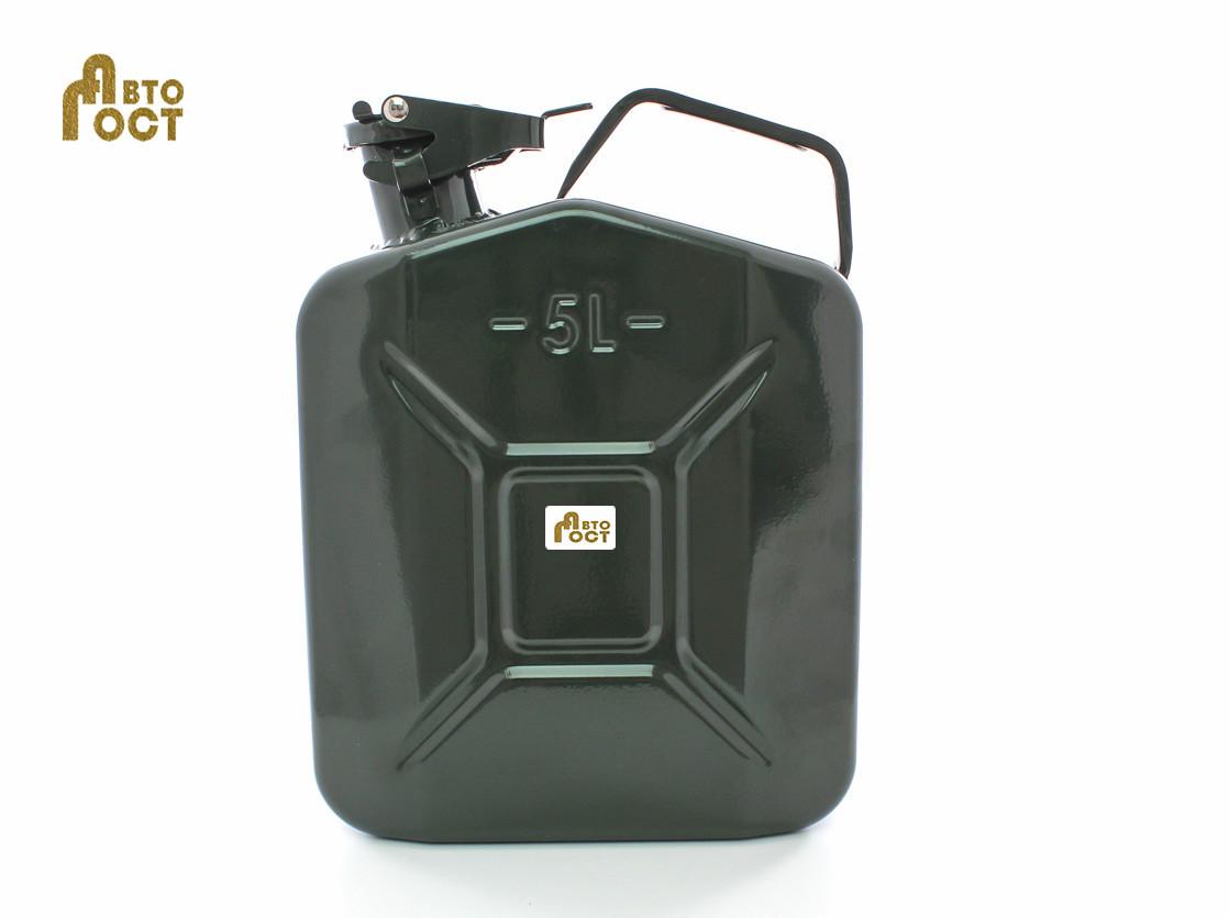 Канистра металлическая для топлива БЕЛАВТО 5 л.