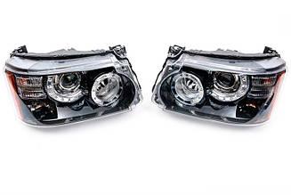 Передние фары Range Rover Sport L320 (рестайлинг)