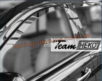 Дефлекторы окон (ветровики) HEKO (вставные) для Dodge Caliber (06-13)