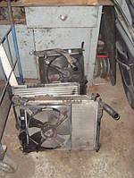 Радиатор охлаждения Дэу Ланос в сборе с вентилятором