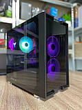 Компьютер игровой 2Egaming Clarus ryzen 7 1700 16GB SSD 240 HDD 1000GB RX580 4GB, фото 2