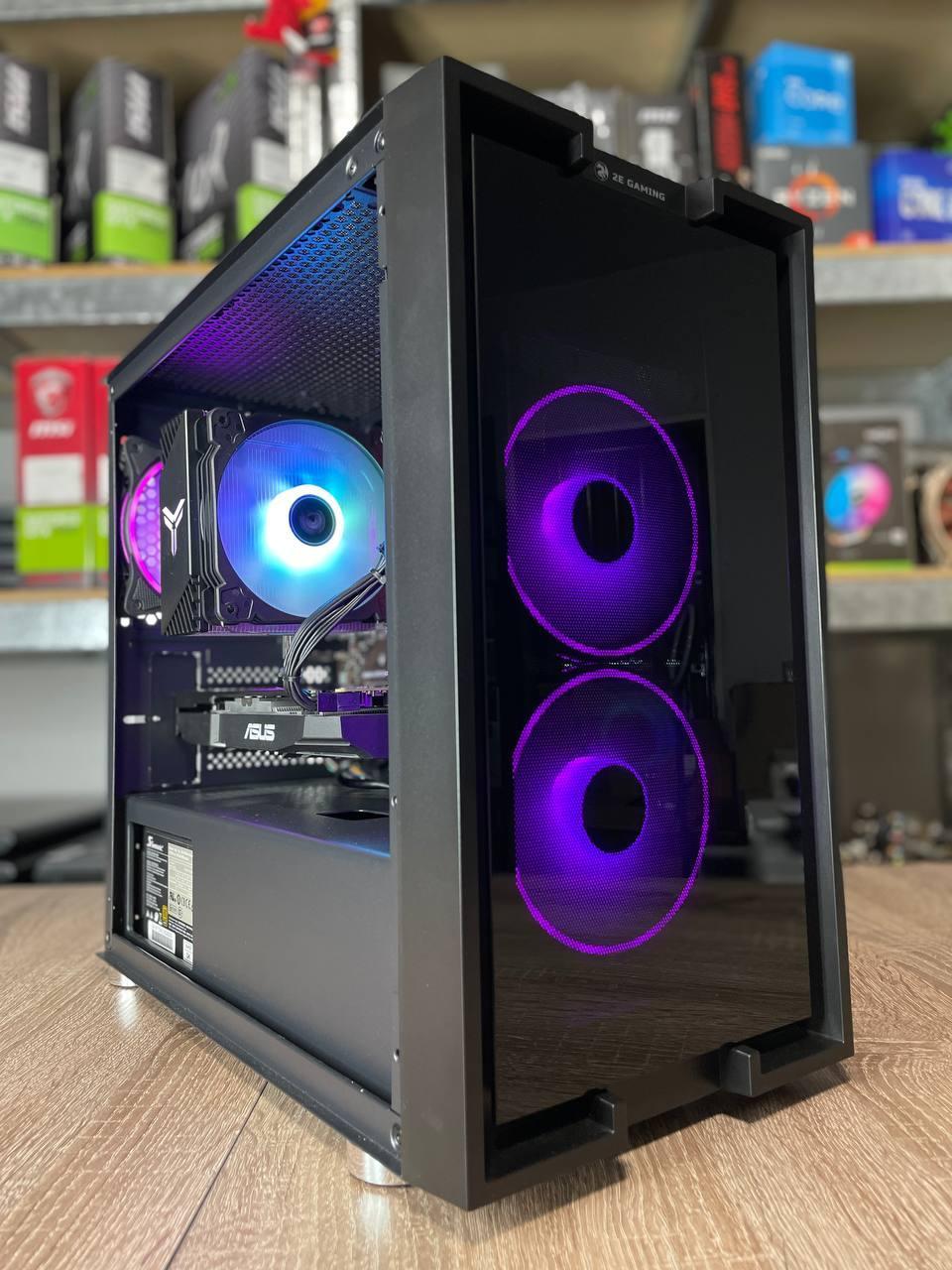 Компьютер игровой 2Egaming Clarus ryzen 7 1700 16GB SSD 240 HDD 1000GB RX580 4GB
