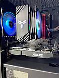 Компьютер игровой 2Egaming Clarus ryzen 7 1700 16GB SSD 240 HDD 1000GB RX580 4GB, фото 3