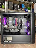 Компьютер игровой 2Egaming Clarus ryzen 7 1700 16GB SSD 240 HDD 1000GB RX580 4GB, фото 7