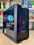 Компьютер игровой 2Egaming Clarus ryzen 7 1700 16GB SSD 240 HDD 1000GB RX580 4GB, фото 9