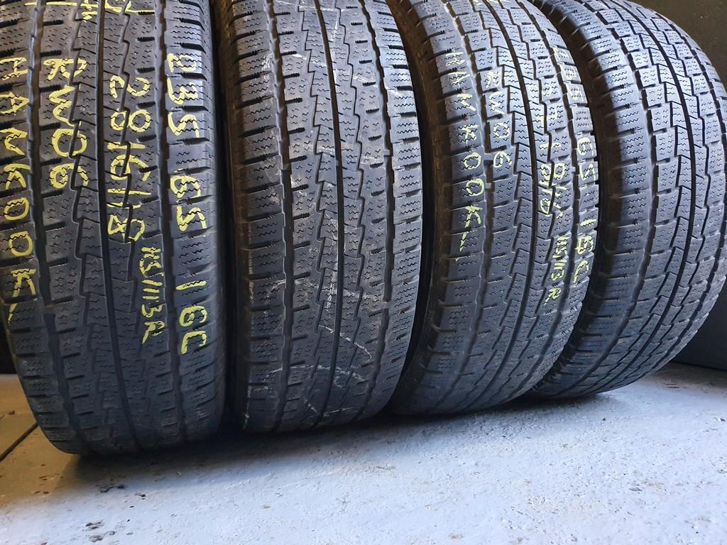 Зимові шини бу 205/75 R16c Kleber