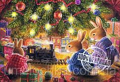 Раскраска по номерам Идейка Рождественские подарки Худ. Веллер Сьюзан 40 x 50 см KH2452