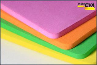 Материал ЭВА в листах цветной