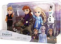 Подарочный набор Disney Frozen 2 Petite Dolls - включает Эльзу, Анну, Кристофф, Олафа и Свена!, фото 1