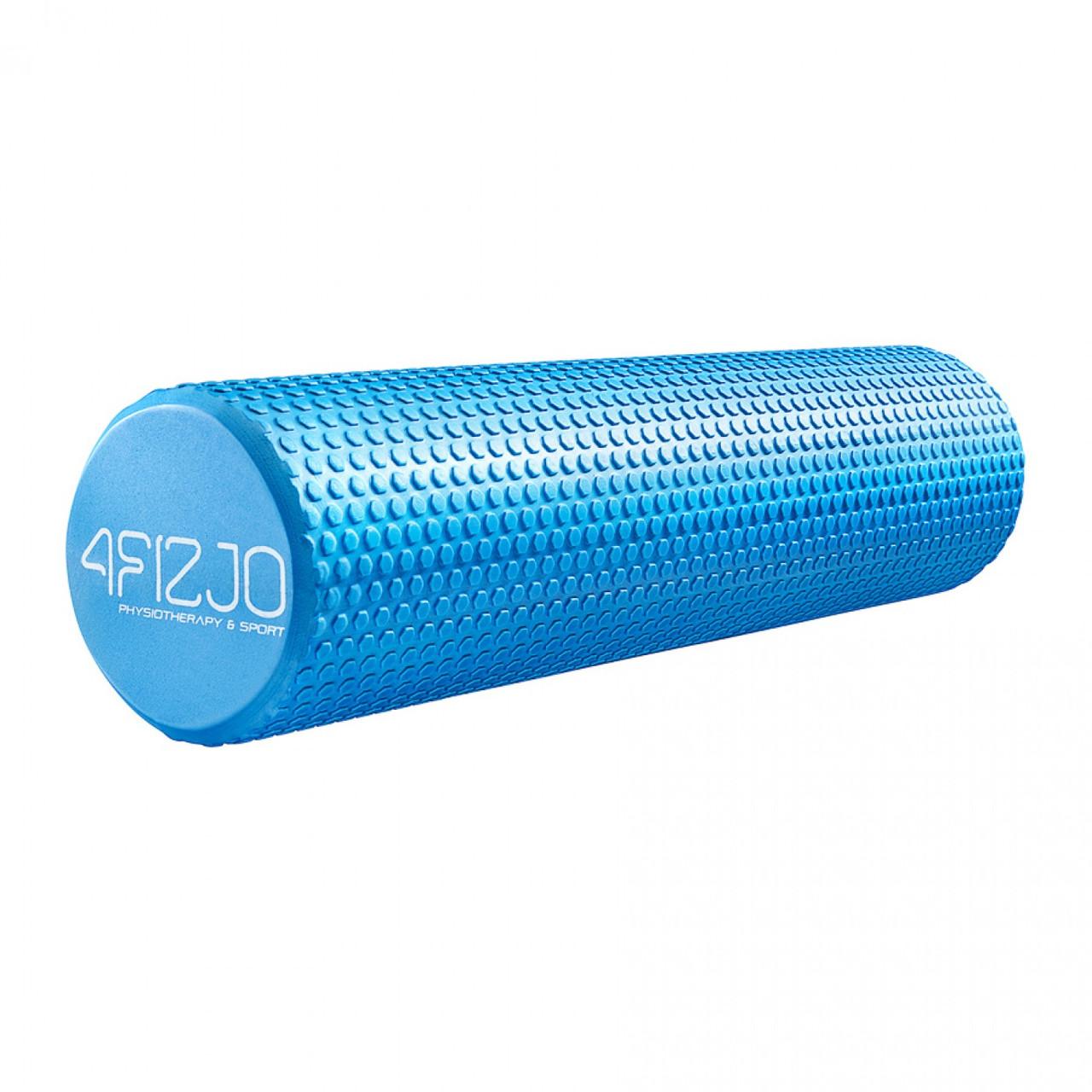 Масажний ролик (валик, роллер) 4FIZJO EVA 60 x 15 см 4FJ0118 Blue