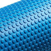 Масажний ролик (валик, роллер) 4FIZJO EVA 60 x 15 см 4FJ0118 Blue, фото 2