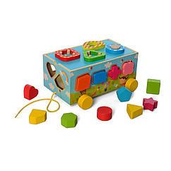 Деревянная игрушка Развивающий центр MD 2609 (Буквы)