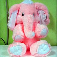 Мягкая игрушка слоник, размер - 55 см. Популярная игрушка. Красивая, милая, чудо-игрушка. Код: КЕ449