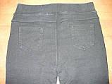 """Штаны женские джинсовые """"Kenalin"""" с  карманами на меху. р. 5XL. Черные, фото 5"""