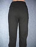 """Штаны женские джинсовые """"Kenalin"""" с  карманами на меху. р. 5XL. Черные, фото 6"""