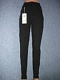 """Штаны женские джинсовые """"Kenalin"""" с  карманами на меху. р. 5XL. Черные, фото 7"""