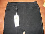 """Штаны женские джинсовые """"Kenalin"""" с  карманами на меху. р. 5XL. Черные, фото 8"""