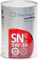 Масло моторное  TOYOTA (Japan)  5W-30 (жесть) 1л  08880-10706