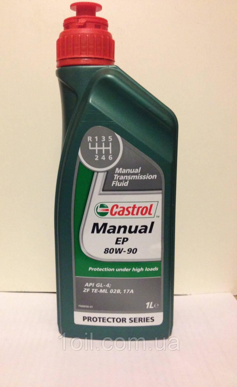 Масло трансмиссионное Castrol Manual EP 80W-90 1L