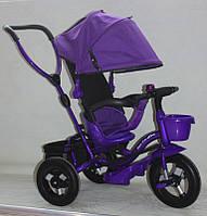 Велосипед детский трехколесный 7TOYS AT0104 Фиолетовы