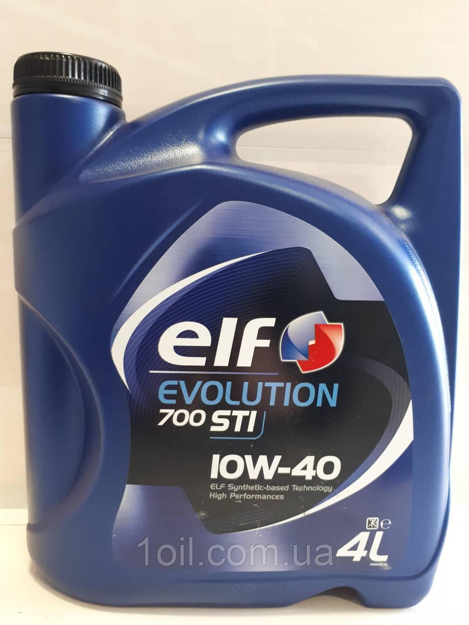 Масло моторное ELF Evolution 700 STI 10W-40 4l (по лицензии)