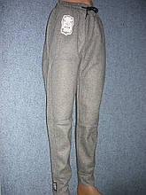 """Жіночі штани """"Black Cyclone"""" з манжетом. Молодіжка. р. 3XL/4XL. Сірі"""