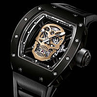 Часы Richard Mille RM 052 Skull Black! мужские, фото 1