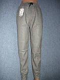 """Жіночі штани """"Black Cyclone"""" з манжетом. Молодіжка. р. 4XL/5XL. Сірі, фото 2"""