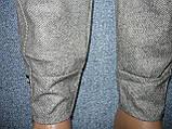 """Жіночі штани """"Black Cyclone"""" з манжетом. Молодіжка. р. 4XL/5XL. Сірі, фото 4"""