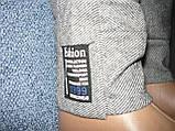 """Жіночі штани """"Black Cyclone"""" з манжетом. Молодіжка. р. 4XL/5XL. Сірі, фото 10"""