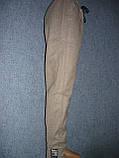 """Женские штаны """"Black Cyclone"""" с манжетом. Молодежка. р. 3XL/4XL. Бежевые, фото 3"""