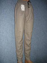 """Жіночі штани """"Black Cyclone"""" з манжетом. Молодіжка. р. 5XL/6XL. Бежеві"""
