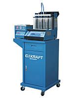 Установка для диагностики и чистки форсунок G.I.KRAFT (6 форсунок, тележка, ультразвуковая ванна) GI19112