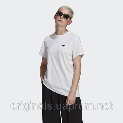 Жіноча вільна футболка adidas Originals Loungewear Adicolor Classics Loose Tee GN2924 2021 D, фото 2